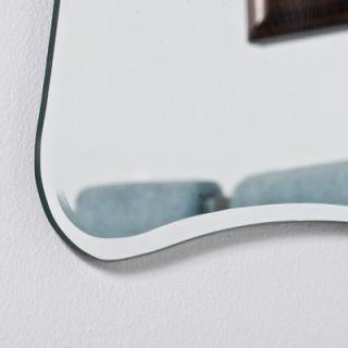 Decor Wonderland Bailey Modern Bathroom Mirror
