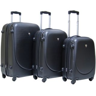 CalPak Valley 3 piece ABS Expandable Hardside Luggage Set