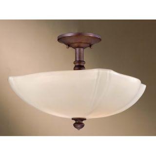 Minka Lavery 2 Light Semi Flush Mount   6097 178