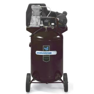 27 Gallon Oil Lubricated Belt Drive Industrial Air Compressor
