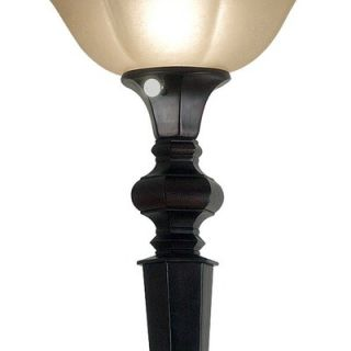 Kenroy Home Chesapeake Torchiere Floor Lamp in Oil Rubbed Bronze