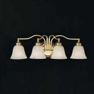 Feiss Bristol Vanity Light in Polished Brass   VS6704 PB