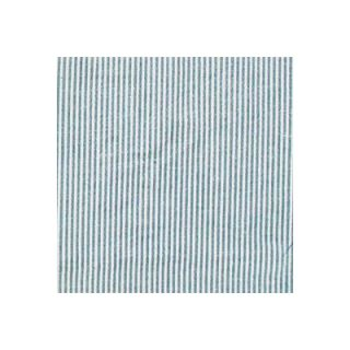 Patch Magic Blue and White Ticking Bed Skirt / Dust Ruffle