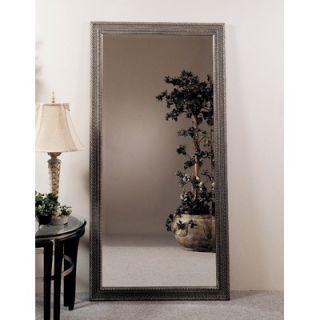 Bassett Mirror Silver Leaf Bevel Leaner Mirror   6357 075