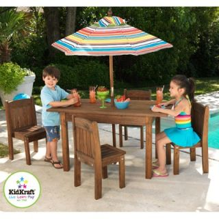 KidKraft Kids 6 Piece Table and Chair Set