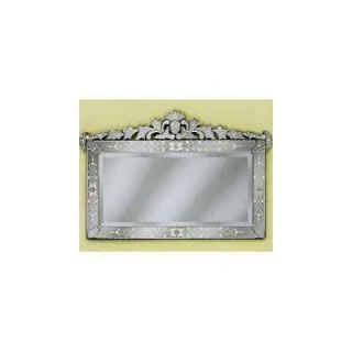 Venetian Gems Loreta Wall Mirror   VG 022 CLEAR
