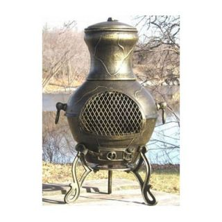The Blue Rooster Etruscan Style Chiminea   ALCH028x / COVER