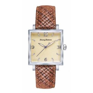 Tommy Bahama Watches Mens Island Heritage Silver Palm Watch