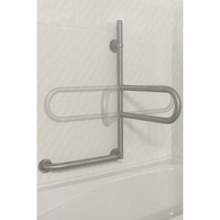 HealthCraft Dependa Bar Lower Grab Rail in White