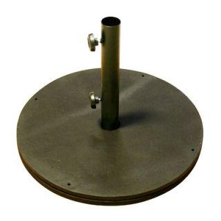 California Umbrella Black Cast Iron Round Umbrella Base