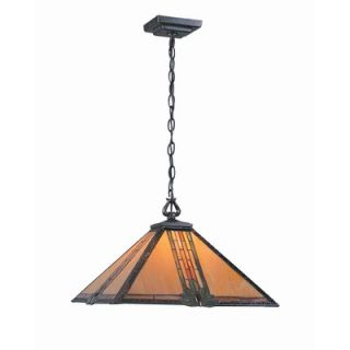 Lite Source Tiffany 1 Light Hanging Pendant