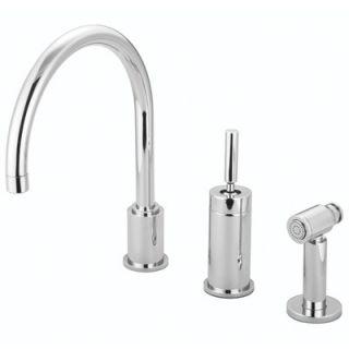 Water Creation Metropolitan Single Handle Widespread Kitchen Faucet