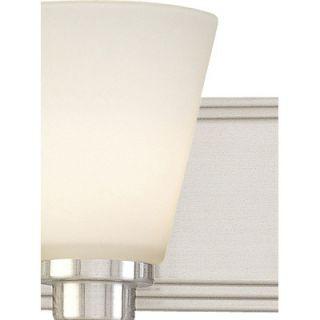 Dolan Designs Southport Vanity Light in Satin Nickel