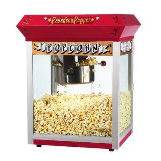 Great Northern Popcorn Bar Style Antique Popcorn Machine in Red