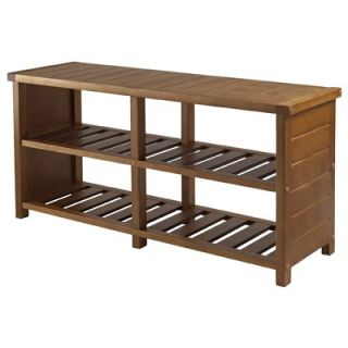 Linon Anna Solid Wood Storage Bench   86101C124 AB KD U