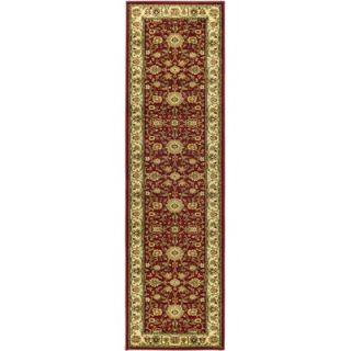 Safavieh Lyndhurst Persian Red/Ivory Rug   LNH212F RE