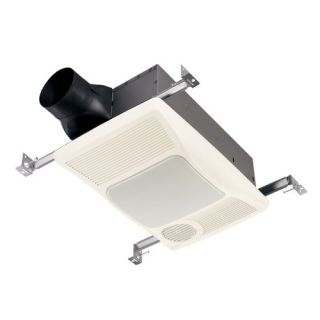 Ultra Silent Bathroom Exhaust Fan and Heater with Light