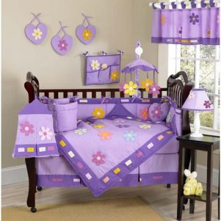Sweet Jojo Designs Danielles Daisies 9 Piece Crib Bedding Set
