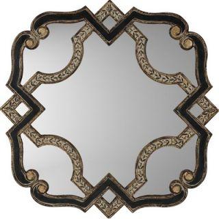 Paragon Black and Gold Serpentine Mirror