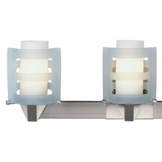 Philips Forecast Lighting Yes Vanity Light in Satin Nickel   F4625