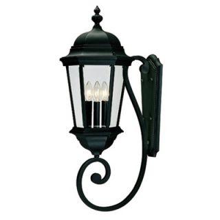 Savoy House Wakefield Outdoor Wall Lantern in Textured Black   5