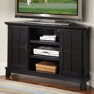 Home Styles Arts and Crafts 50 Corner TV Stand   88 5181 07