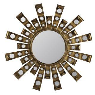 Cooper Classics Laurel Cheval Mirror in Distressed Rustic Mahogany