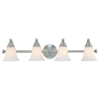 Dolan Designs Hamilton Vanity Light in Satin Nickel
