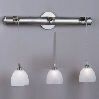 Philips Forecast Lighting Mini Pendant Holder in Satin Nickel