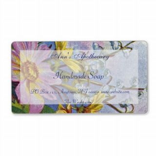 Handmade Soap Spa Cosmetics Label