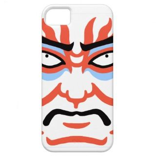 Kubuki Face Paint iPhone 5 Cover