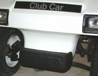 Club Car Golf Cart Bumper Front 1984 to DS 2004