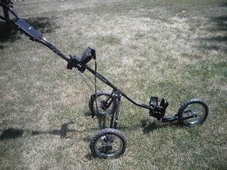 Bagboy 3 Wheel Golf Bag Push Cart Model SC545