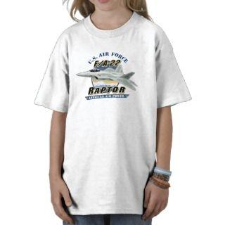 FA 22 Raptor Kids Tee Shirt