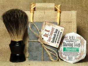 Grooming Set Badger Shaving Brush Shave Soap Beer Soap Groomsmen Gifts