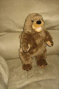 Cute Quality Made 16 Stuffed Plush Groundhog Animal PAL