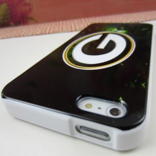Green Bay Packers Rubber Silicone Skin Case Cover for Apple iPhone 5