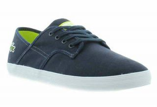 Lacoste Shoes Genuine Andover Jaw Mens Dark Blue Light Green Shoes UK