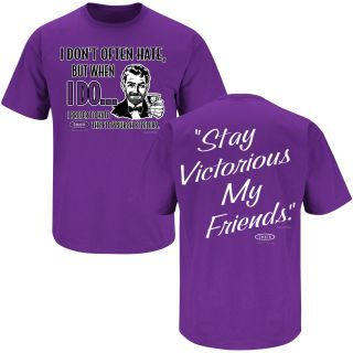 Baltimore Ravens Fans Stay Victorious T Shirt