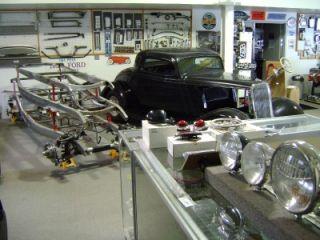 1940 41 Chevy Griffin Aluminum Radiator Street Rod