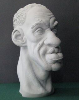 Rondo Hatton Ultra RARE Large Resin Bust The Creeper