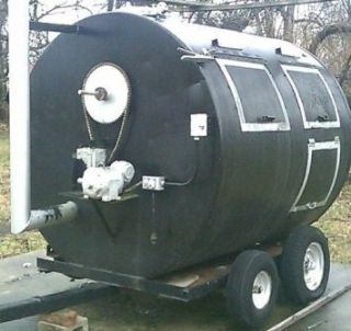 Size Custom Commercial Mobile BBQ Pit/Smoker   REDUCED TO SELL ASAP