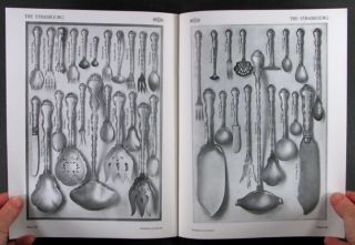 GORHAM STRASBOURG PATTERN STERLING SILVER FLATWARE   RE ISSUE OF 1910