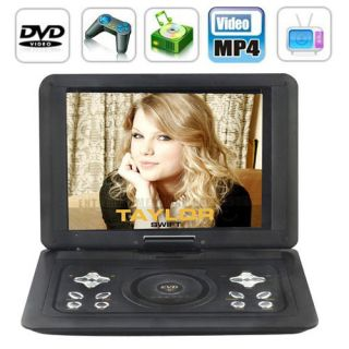 15 inch Portable HD DVD Player with Copy Capability MP5 Function Black