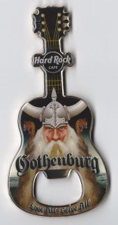 Hard Rock Cafe Gothenburg Viking Bottle Opener 2012