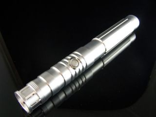 STAR WARS Custom Aluminum Stunt Blue LED Lightsaber The Havoc