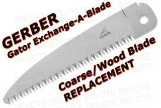 Gerber Gator EAB Coarse Wood Saw Blade Only 22 41462