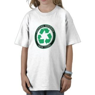 Going Green Recycle New York Tee Shirt
