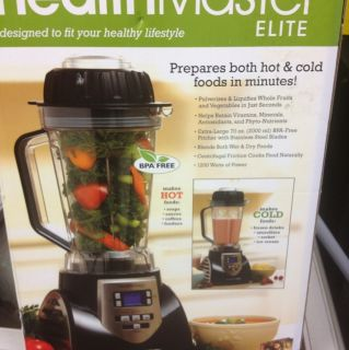 HealthMaster Elite Emulsifier Blender Food Processor As Seen On TV