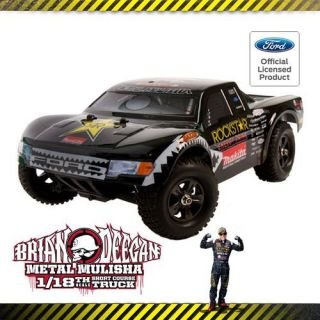 Atomik Metal Mulisha Brian Deegan 1 18 Scale Ford Raptor 150 RC Truck